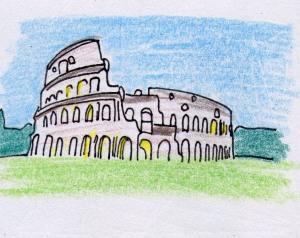 WC Art Encyclopedia Colosseum