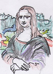 WC Art Encyclopedia Mona Lisa