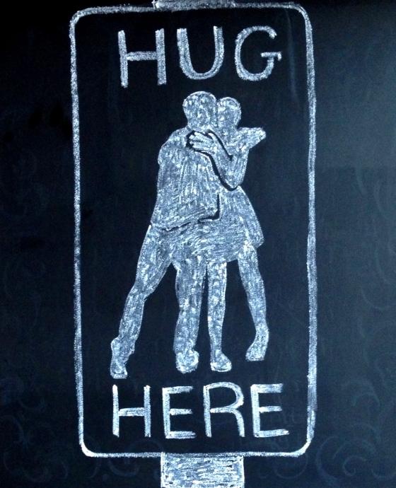 hug here