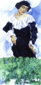 Chagall_Bella