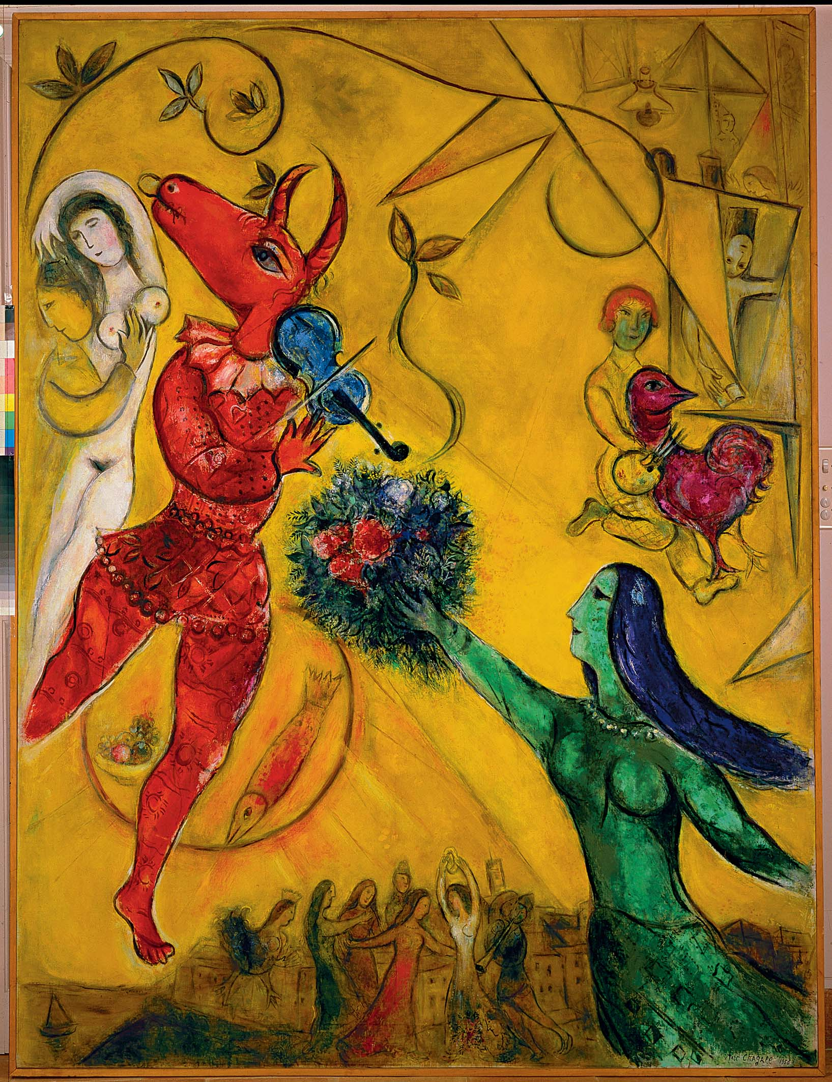 It's not Love without a Fiddle – The Avengers Rescue Chagall's ...